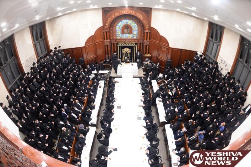 Photo Essay: Yartzeit Of The Sadigura Rebbe Marked By The Sadigura Rebbe (Photos by JDN)