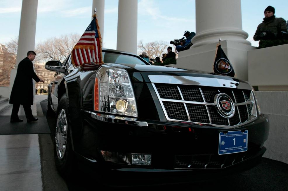 Obama, Trump Leave White House, Limo To Capitol
