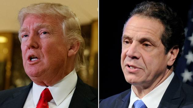 Trump, Cuomo Talk Tax Policy, Health Care At Trump Tower Meeting
