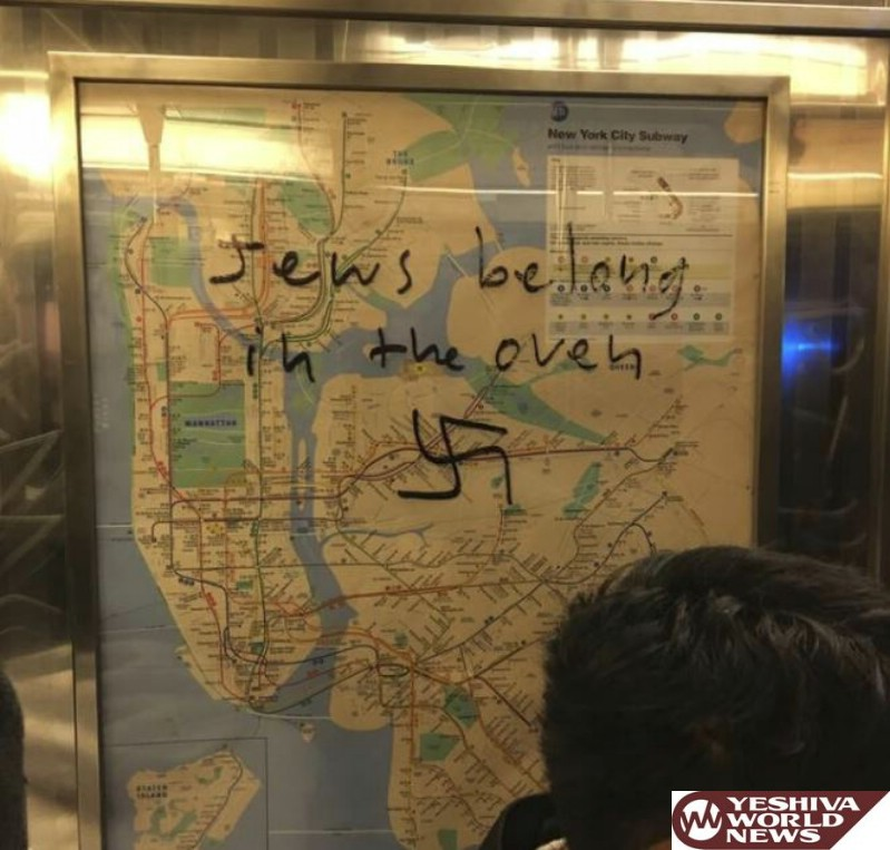 These New Yorkers Worked Together to Remove Swastika Vandalism from the Subway