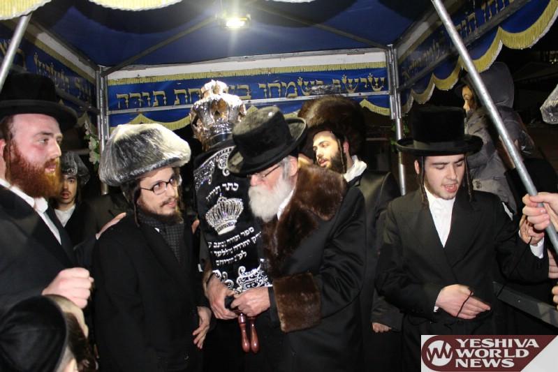 Photo Essay: Hachnasas Sefer Torah To The Big Visnitz Shul In Monsey (Photos by JDN)