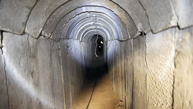 Egypt Destroys Border Area Tunnels From Gaza