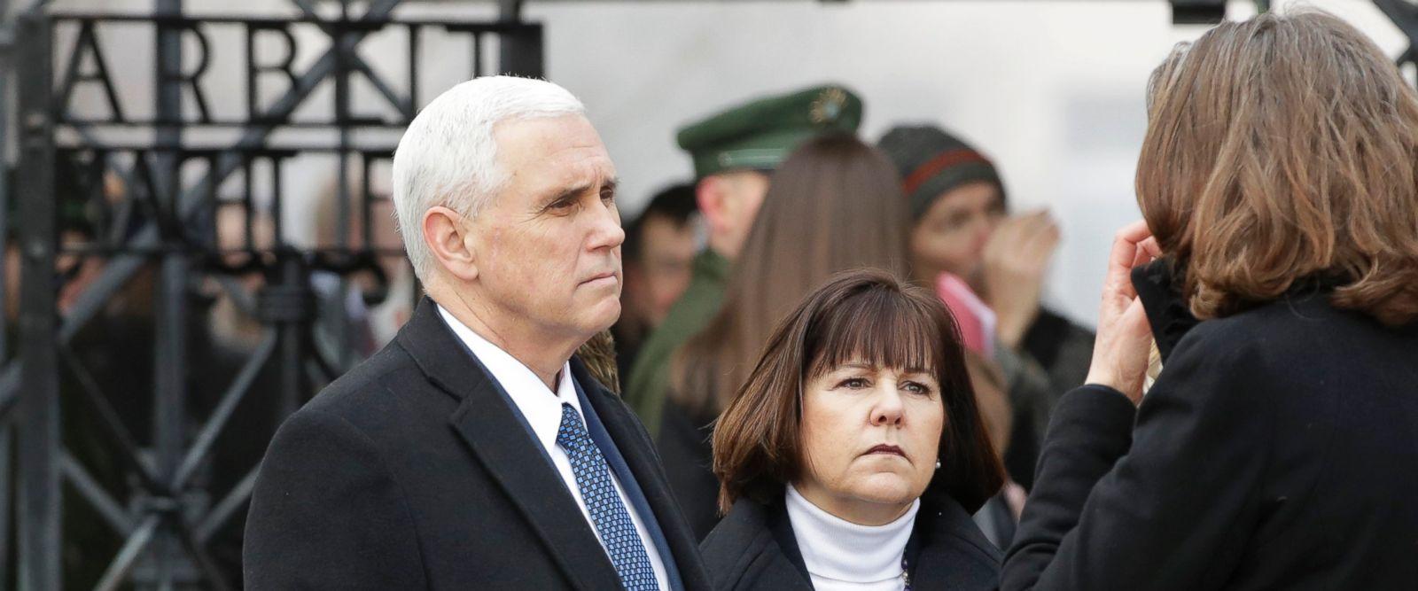 US Vice President Visits Former Nazi Concentration Camp