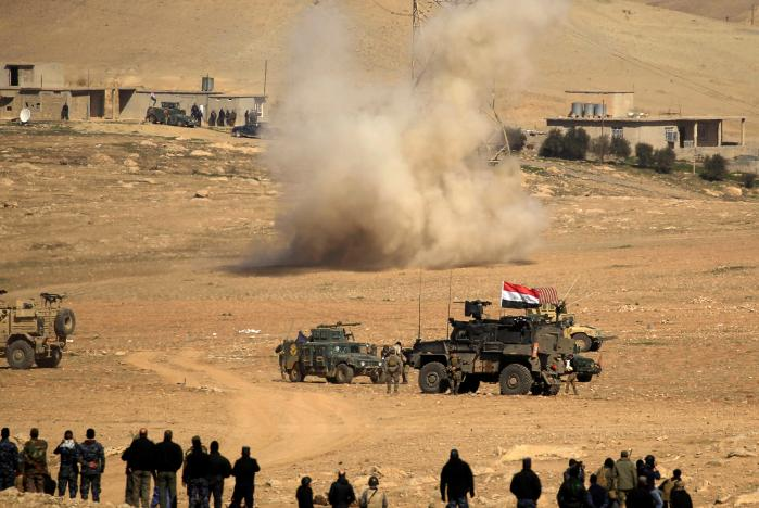 Iraqi Forces Advance On Islamic State-Held Western Mosul