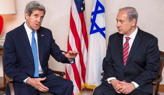 Report: Former US Secretary Of State Kerry Offered PM Netanyahu A Regional Peace Plan