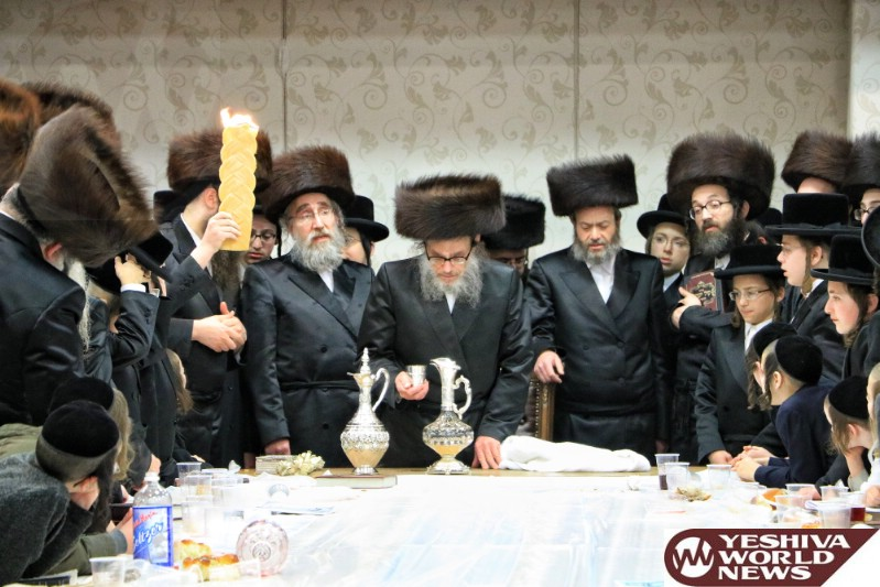 Photo Essay: The Pupa Rebbe On Motzei Shabbos In Monsey (Photos by JDN)