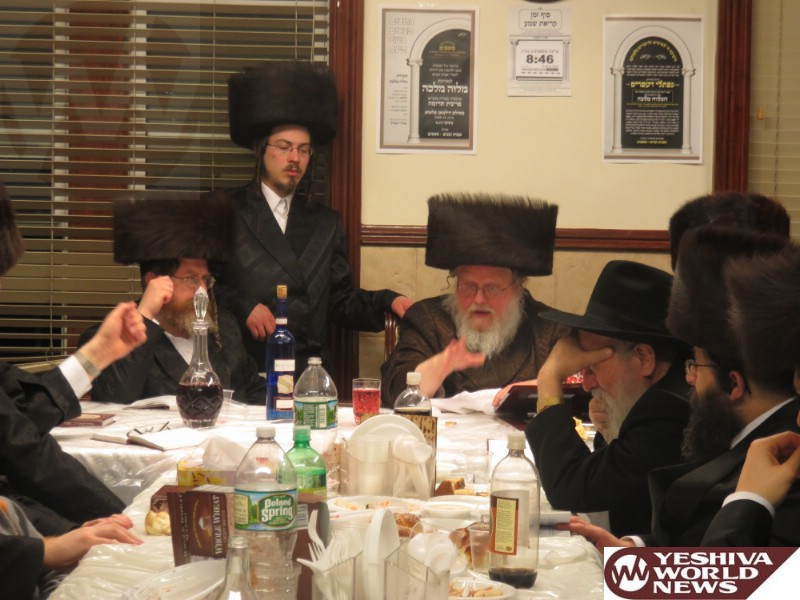Photo Essay: Sasov Rebbe Motzei Shabbos In Boro Park (Photos by JDN)