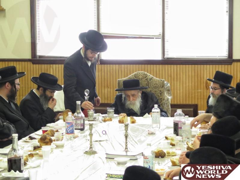 Photo Essay: Kashau Rebbe At The Rosh Chodesh Tish (Photos by JDN)