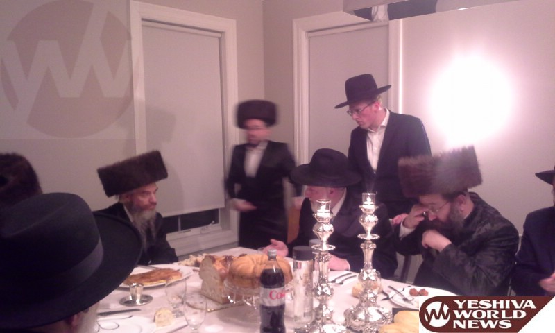 Photo Essay: Loitzk Rebbe By Melavah Malka Motzei Shabbos In Lakewood (Photos by JDN)