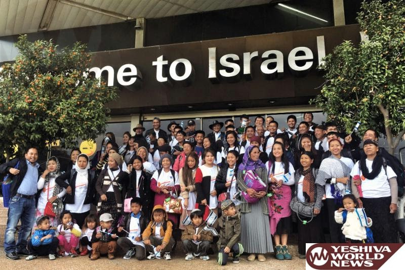 VIDEOS: 72 Of India's Bnei Menashe Lost Tribe Arrive In Israel Last Week