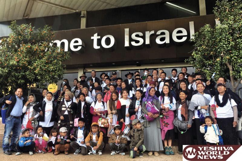 VIDEOS: 72 Of India's Bnei Menashe Lost Tribe Arrive In Israel Last Week