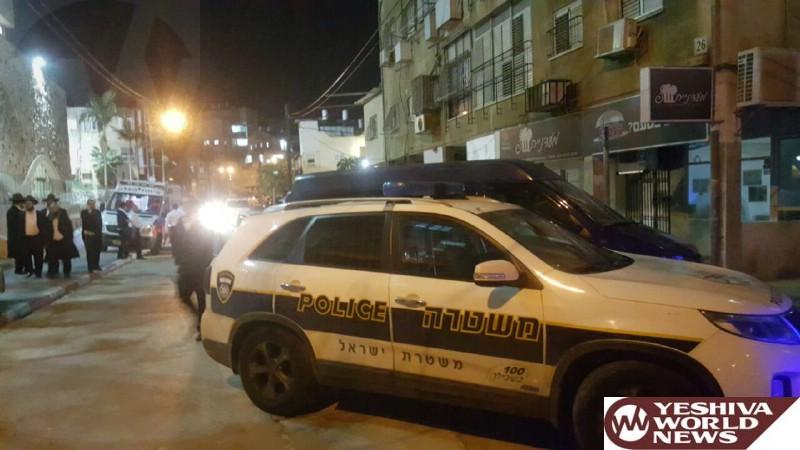 PHOTOS: Fire In Underground Parking Lot On Shaulzon Street In Jerusalem