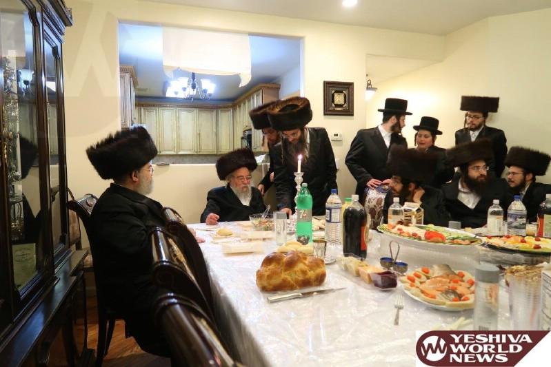 Photo Essay: Rav Yitzchok Moshe Erlanger By Melavah Malka Motzei Shabbos In Williamsburg (Photos by JDN)