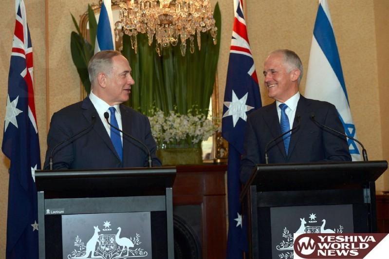 VIDEOS: PM Netanyahu Meets With Australian PM Malcolm Turnbull