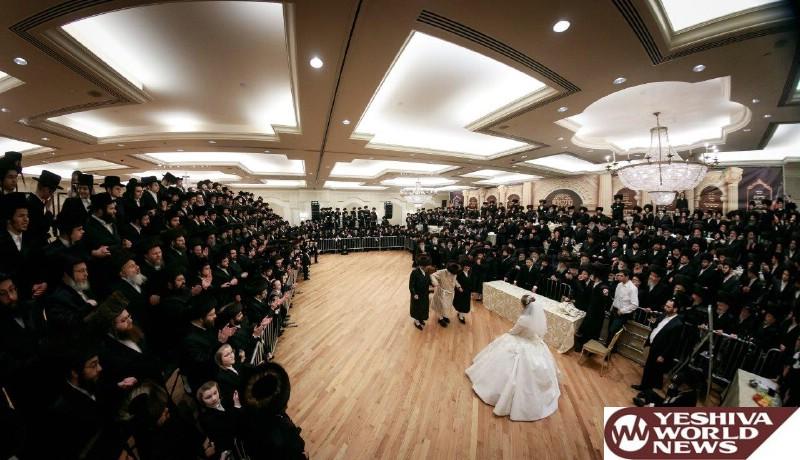 Munkatcher rebbe wedding
