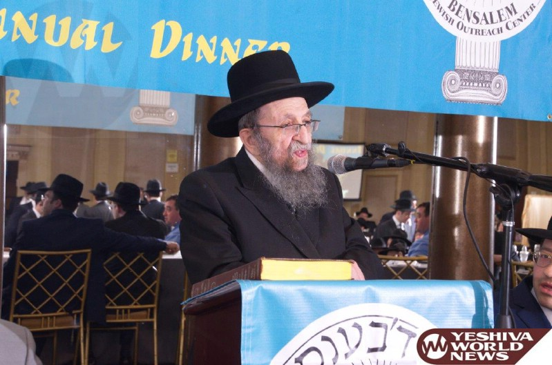 Photo Essay: Dinner For The Bensalem, PA Kollel (Photos by JDN)