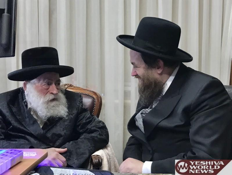 Photo Essay: Rav Yida Leib Witler Mashgiach Of Yeshivas Manchester Visiting Melbourne Rov (Photos by JDN)
