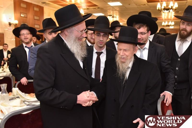 Photo Essay: 30 Years To Yeshivas Yad Ahron Yerushalayim Attended By Gedolim