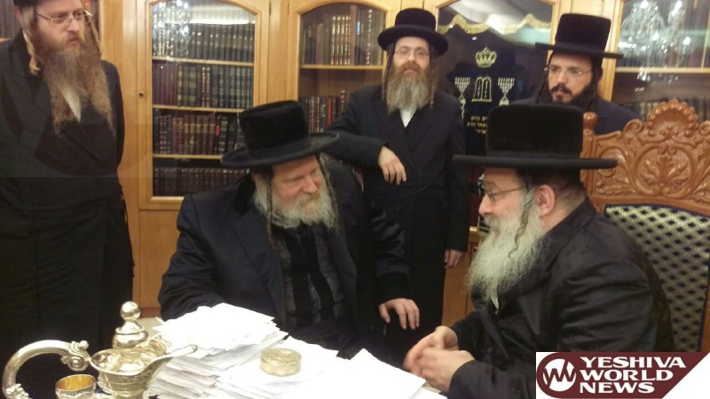 Photo Essay: Pittsburgh Rebbe Visiting The Nadvorna Rebbe