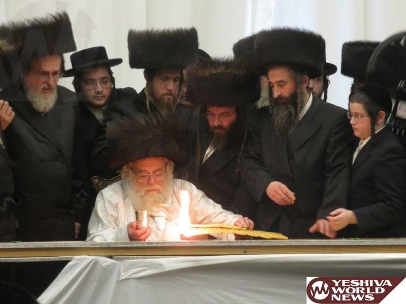 Photo Essay: The Toldos Aharon Rebbe On Motzei Shabbos In Monsey (Photos by JDN)