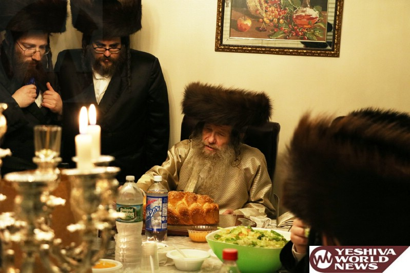 Photo Essay: Lelov Nikolsburg Rebbe By Melavah Malka Motzei Shabbos In Boro Park (Photos by JDN)