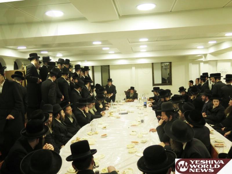 Photo Essay: Yartzeit Of Rav Mordchai Of Zvehill Marked By The Zvehill Rebbe (Photos by JDN)