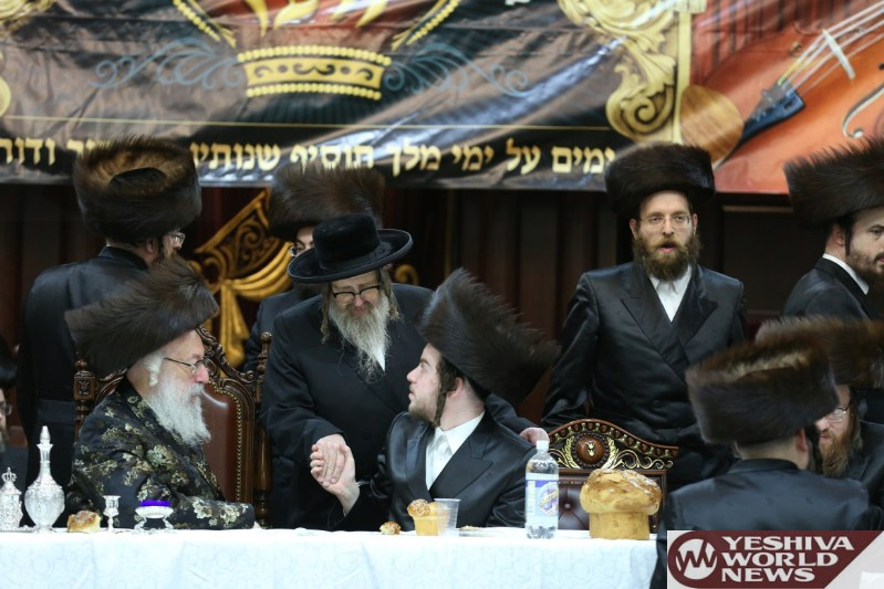 Photo Essay: Main Sheva Brachos In Courts Of Vien, Terzal And Zidetchov (Photos by JDN)