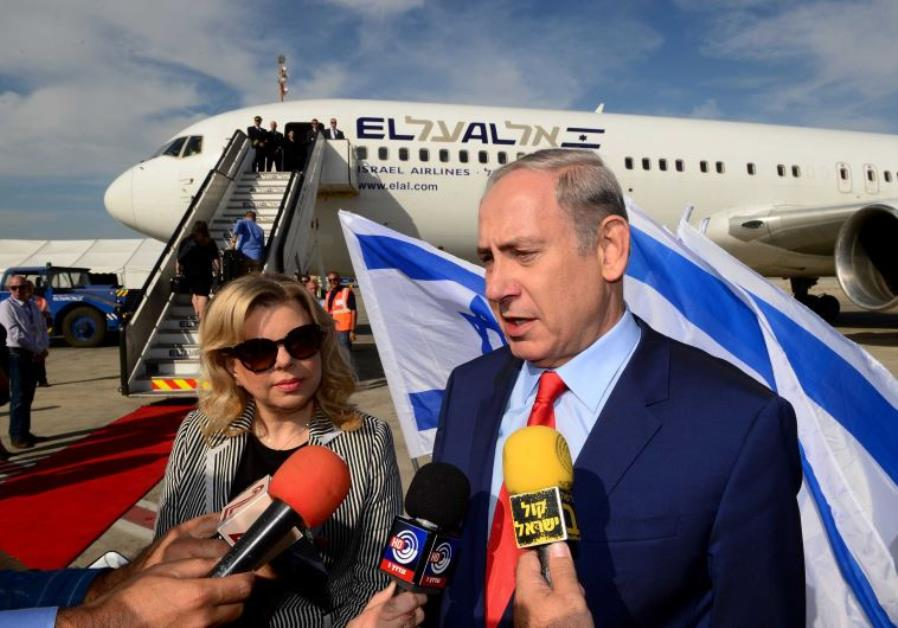 The Strange Route Benjamin Netanyahu Took To Get From Singapore To Sydney