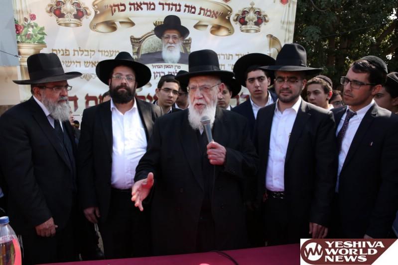 Hagaon HaRav Sholom Cohen Refuses To Sign A Letter Of Support For Deri