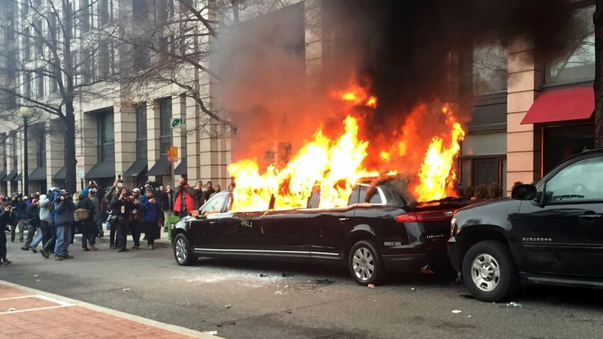 Inauguration Day Protests Spur For Study Of Police Actions