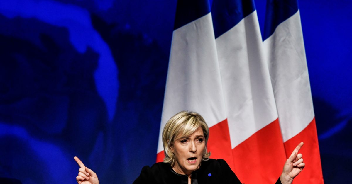 If This Woman Becomes President Of France, Jews Will be Banned From Wearing Yarmulkas