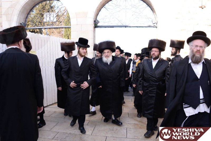 Photo Essay: Zutchke Rebbe In Meron (Photos by JDN)