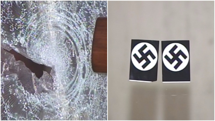Chicago synagogue plastered with swastikas in antisemitic attack
