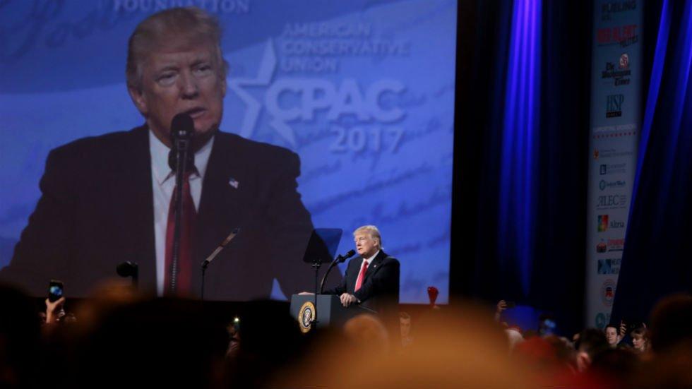 'No Anonymous Sources' Trump Scolds