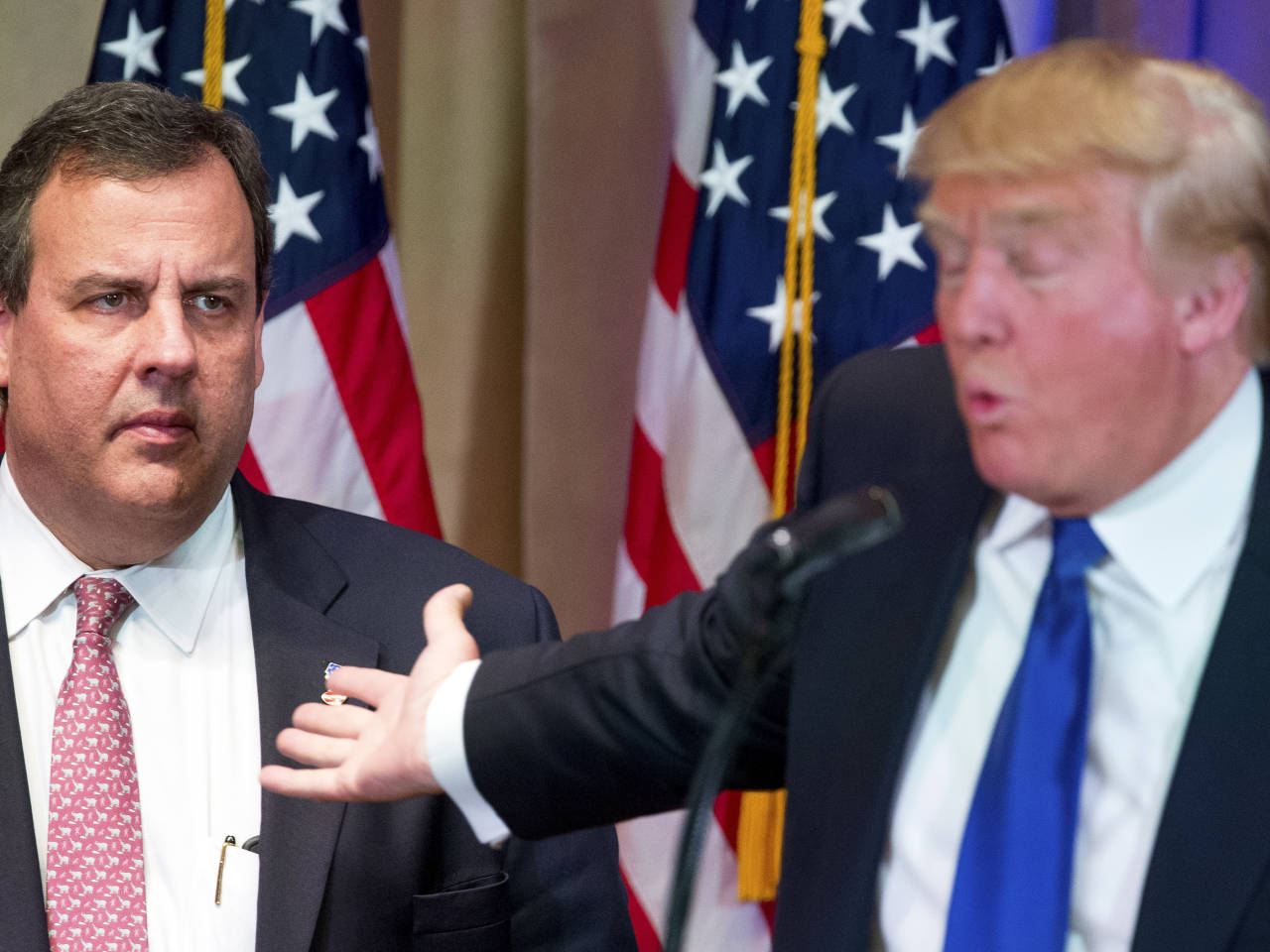 President Trump To Chris Christie: Try The Meatloaf