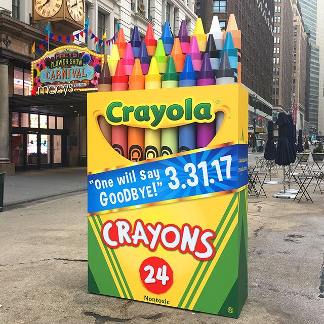 Crayola To Retire Crayon For First Time Ever