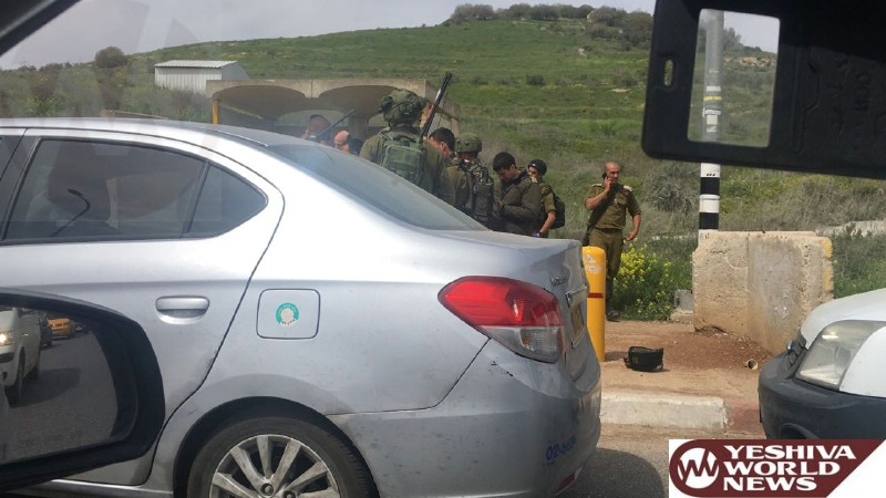 Terrorist Neutralized In Attempted Stabbing Attack In The Shomron