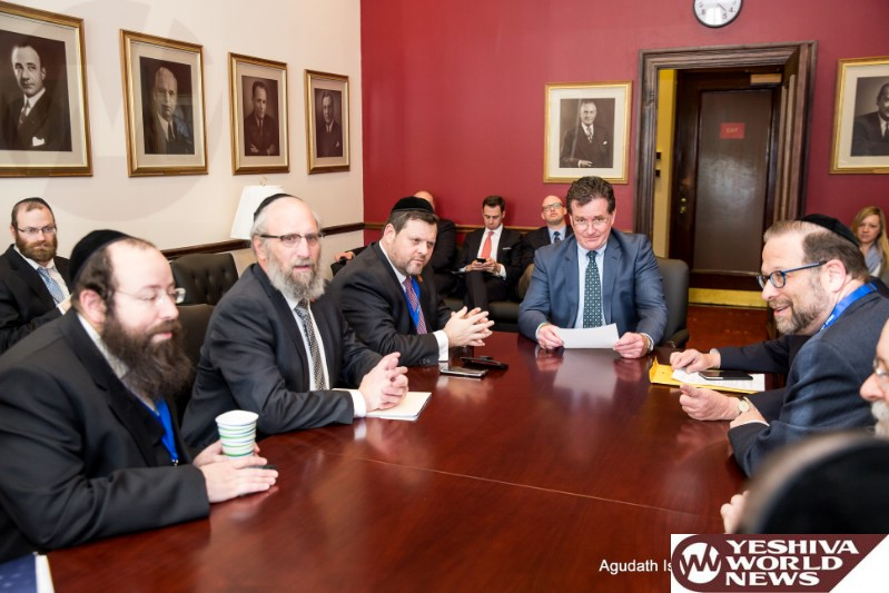 VIDEO/PHOTOS: Agudath Israel Mission To Albany Petitions For Tuition Relief, Security Funding