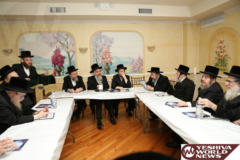 PHOTOS: Communal Gathering Takes Place In Boro Park To Facilitate The Outreach Of Avihem, In Support Of Their Efforts Toward Assisting Orphans With Wedding Expenses