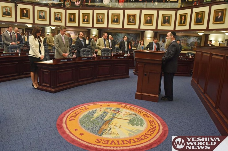 VIDEO/PHOTOS: Chaplain Of The Day In FL House Of Reps