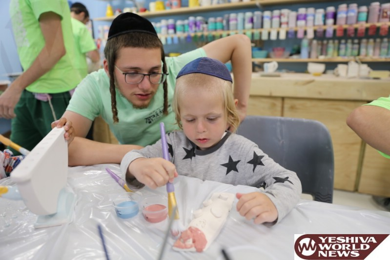 Simcha Teachers Give Sick Children Lessons In Laughter