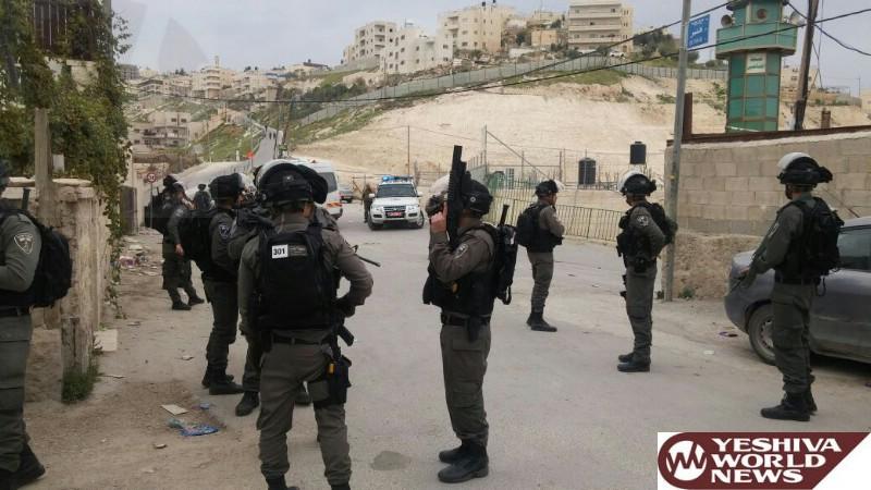 VIDEO/PHOTOS: Border Police Deployed As Home Of Jabil Mukhaber Terrorist Is Sealed