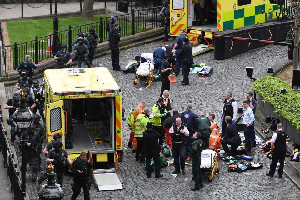 London Terrorst Identified As Khalid Masood