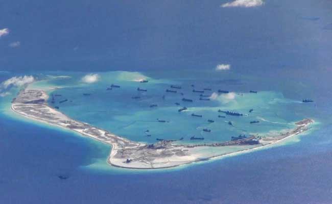 Duterte: I can't stop China from island building