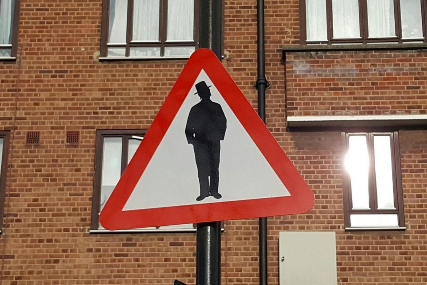 'Beware of Jews' sign near London synagogue reported to police