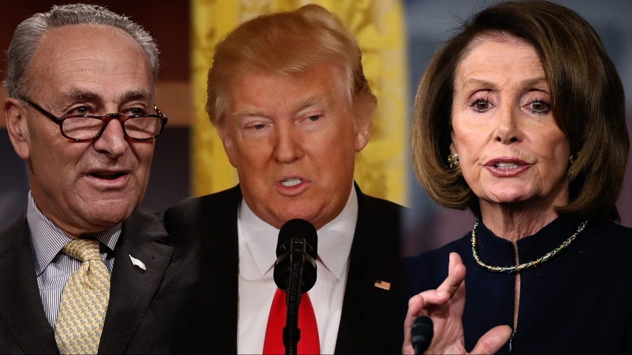 Trump: Pelosi, Schumer Are The Losers 'Because Now They Own Obamacare Which Is EXPLODING In Next Year'