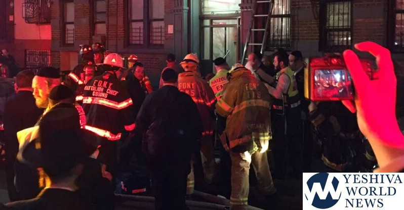 8 Injured In Williamsburg, Brooklyn Apartment Building Fire
