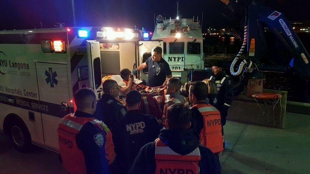 Accident On Tugboat In NY Harbor Severs Crew Member's Arm