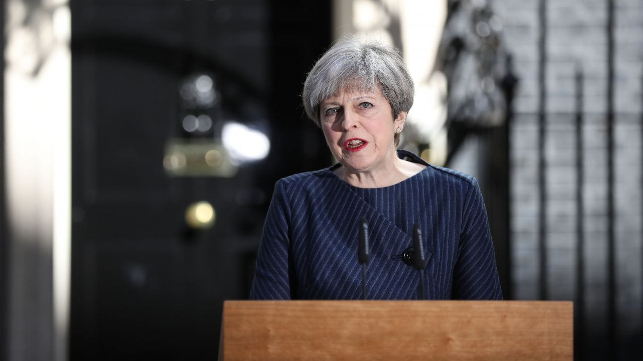 Theresa May accuses opposition leaders of seeking to divide UK