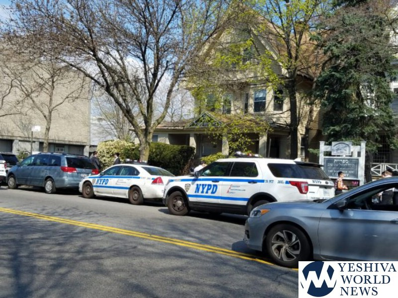 Thug Who Assaulted And Robbed Shul Caretaker In Custody; Second Suspect Being Sought